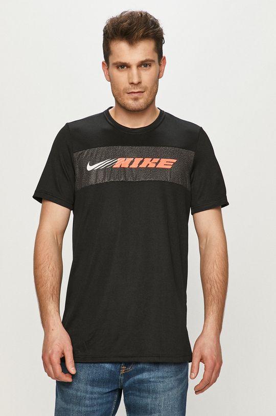 czarny Nike - T-shirt