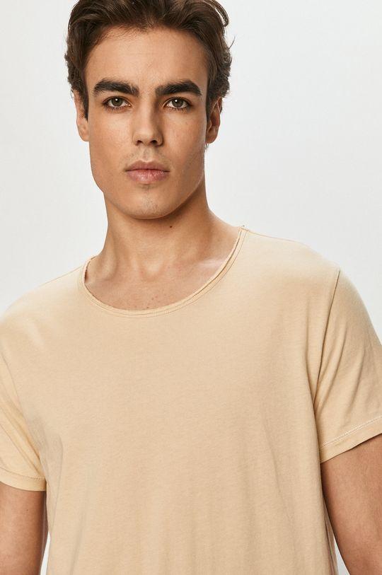 beżowy Tigha - T-shirt