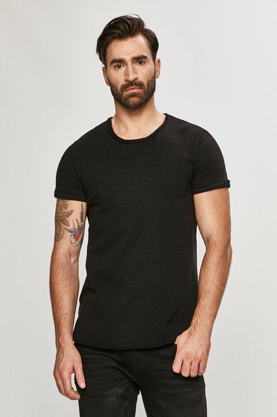 černá Tigha - Tričko
