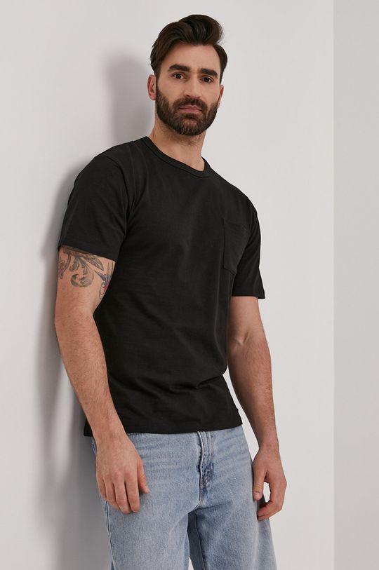černá Tigha - Tričko Almos Pánský