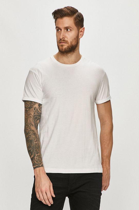 biały Tigha - T-shirt Zander Męski