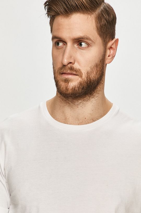biały Tigha - T-shirt Zander