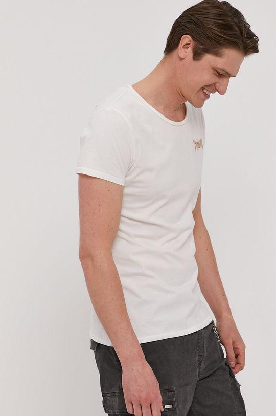 biały Tigha - T-shirt Vintage Eagle Męski