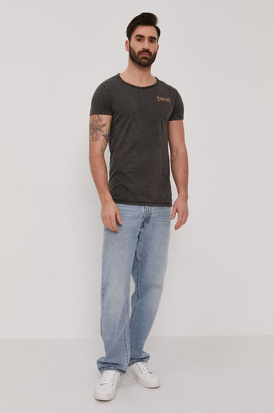 Tigha - T-shirt Vintage Eagle szary