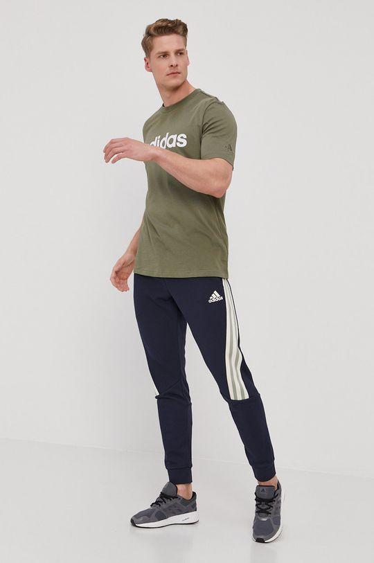 adidas - Tričko zelená