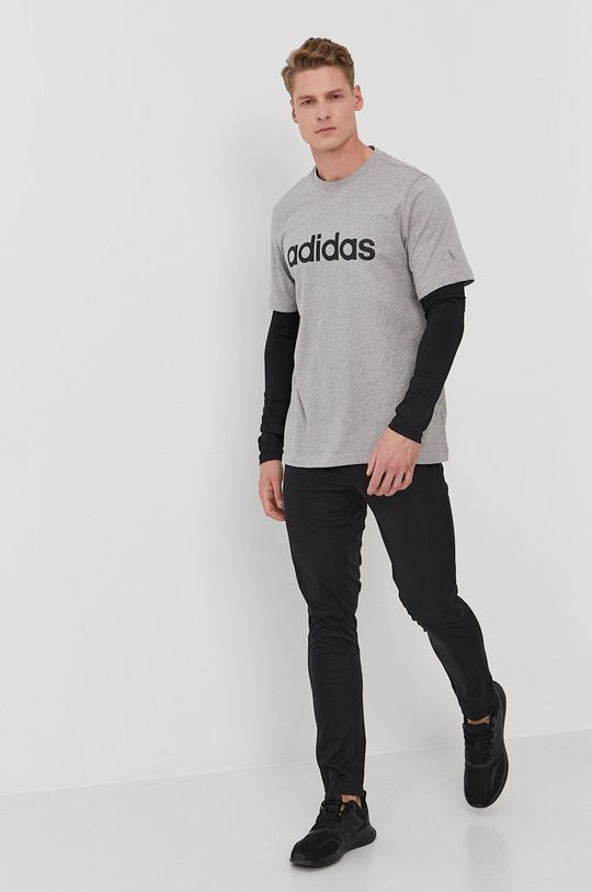adidas - T-shirt szary