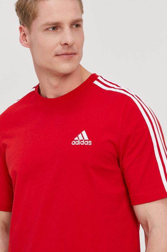 sýtočervená adidas - Tričko