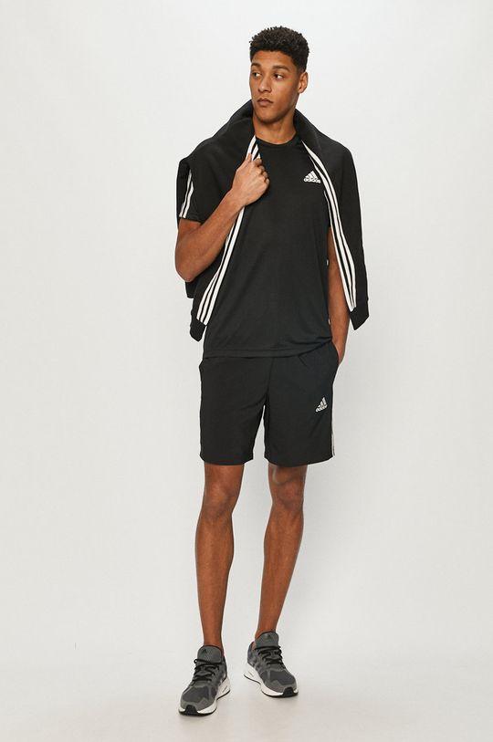 adidas - T-shirt czarny