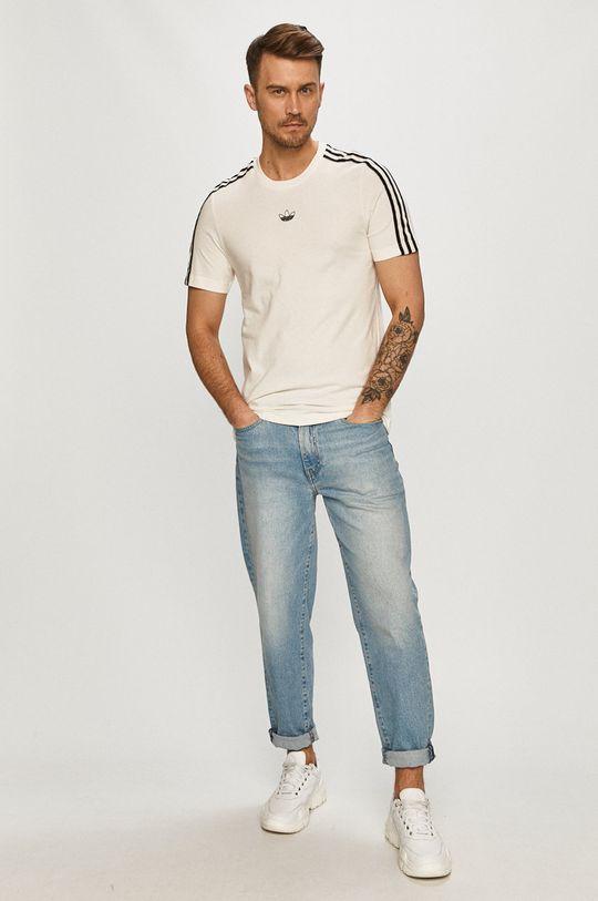 adidas Originals - Tričko smetanová