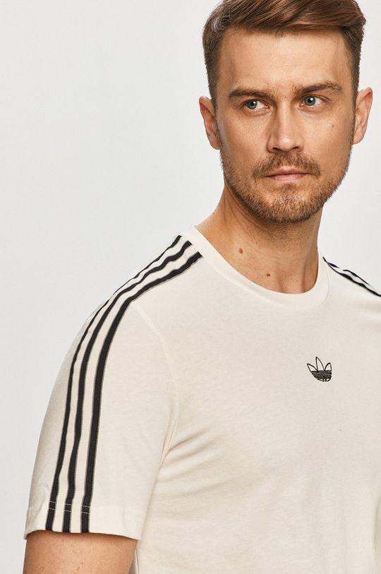 smetanová adidas Originals - Tričko