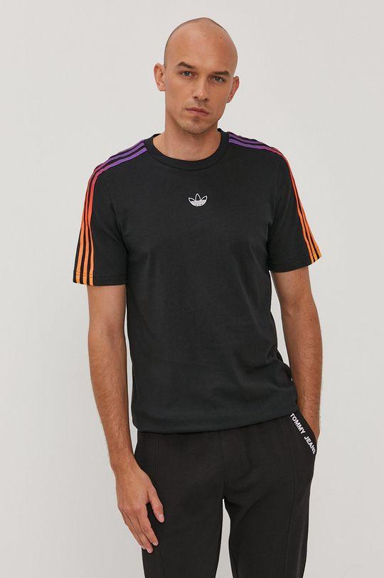 čierna adidas Originals - Tričko GN2423 Pánsky