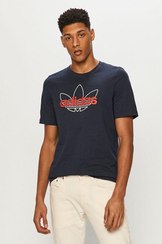 tmavomodrá adidas Originals - Tričko