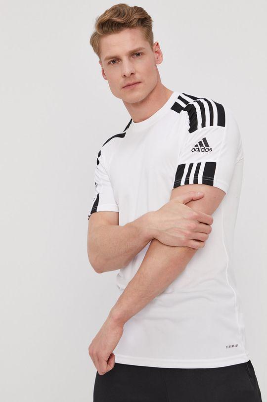 biały adidas Performance - T-shirt Męski