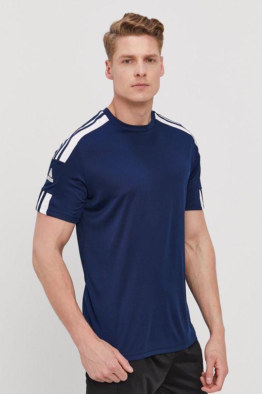 granatowy adidas Performance - T-shirt Męski