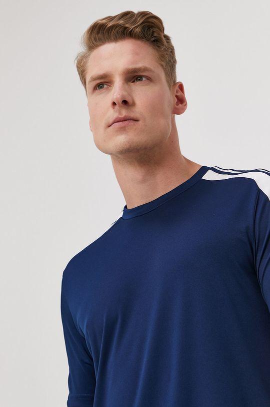 granatowy adidas Performance - T-shirt