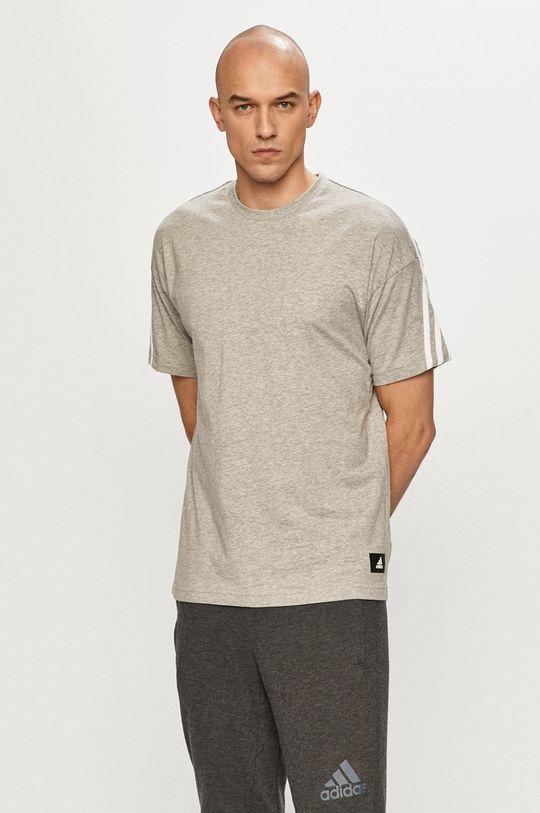 šedá adidas Performance - Tričko Pánský