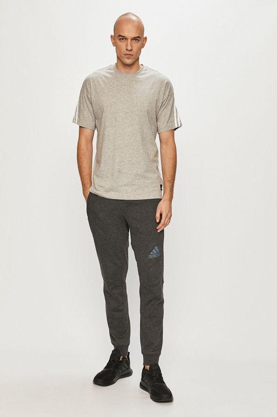 adidas Performance - Tričko šedá
