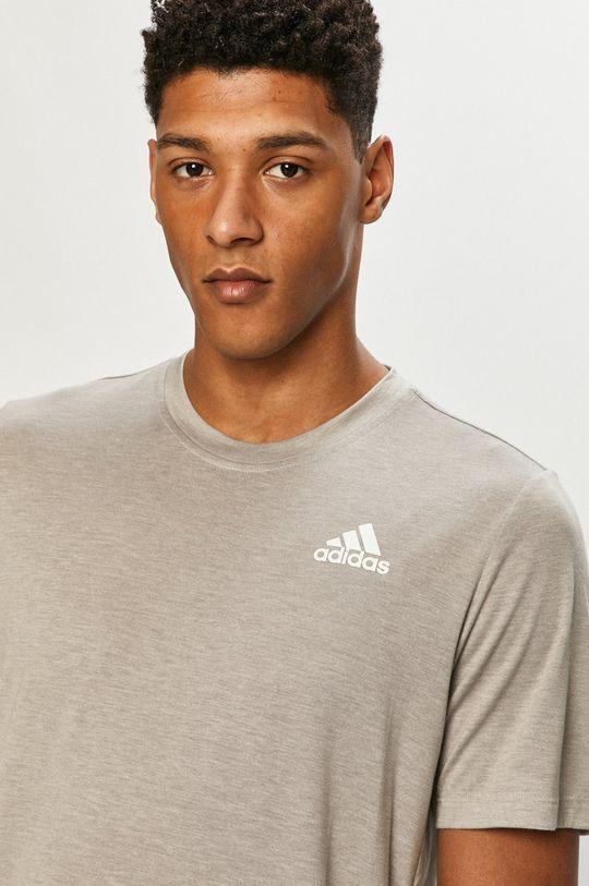 adidas - Tričko sivá