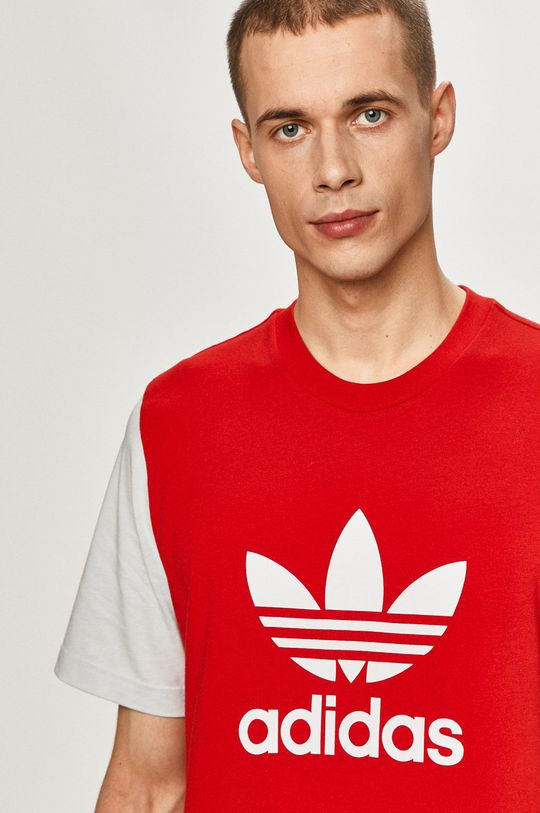 červená adidas Originals - Tričko