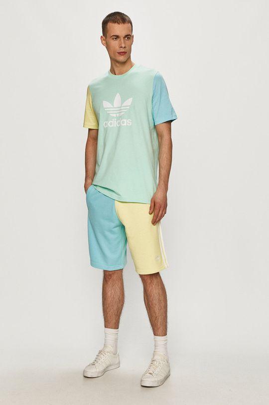 adidas Originals - Tričko světle tyrkysová