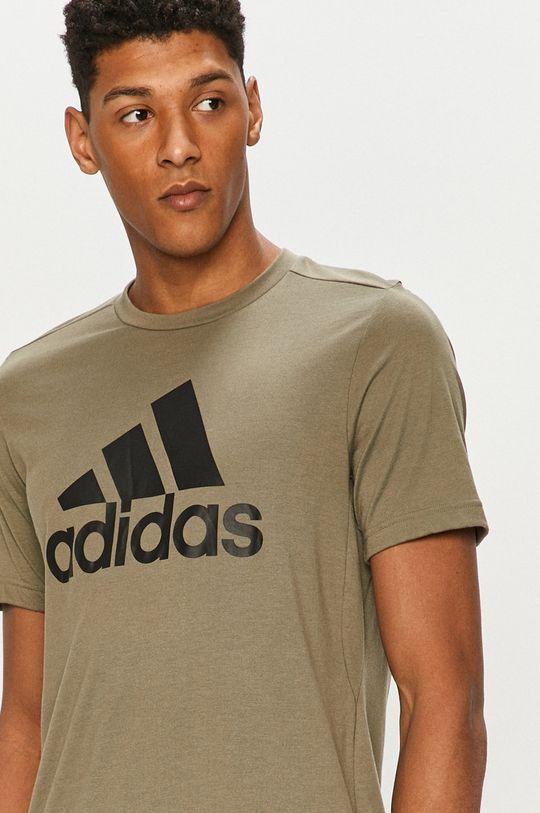zelená adidas - Tričko