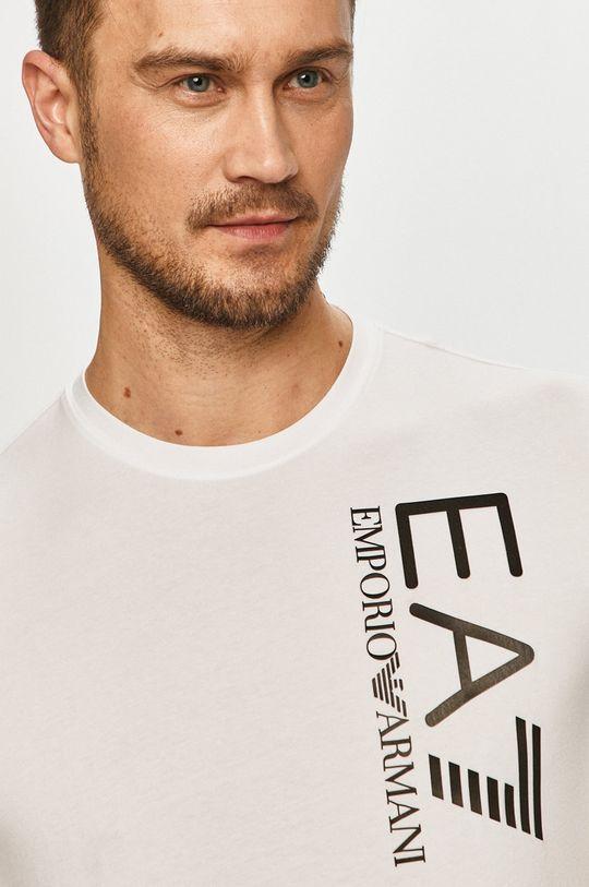 biela EA7 Emporio Armani - Tričko