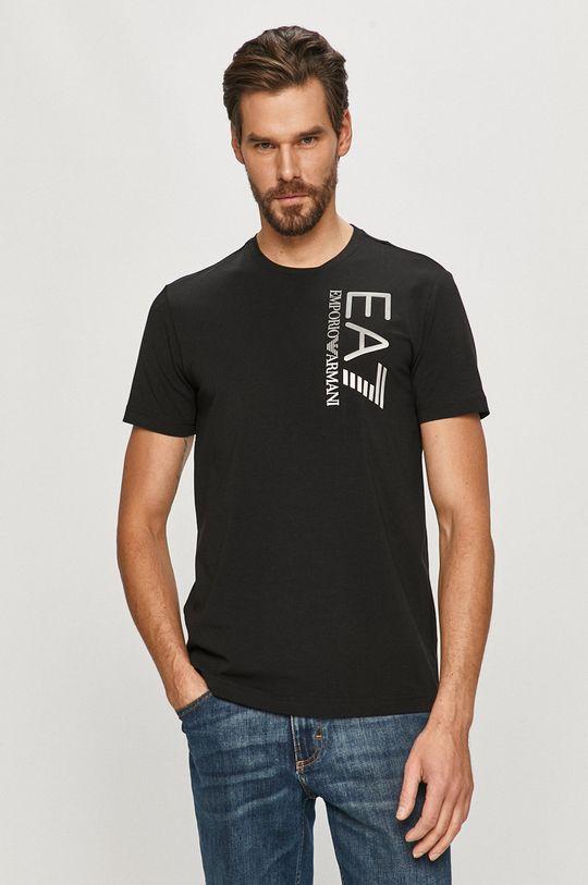 EA7 Emporio Armani - Tričko černá