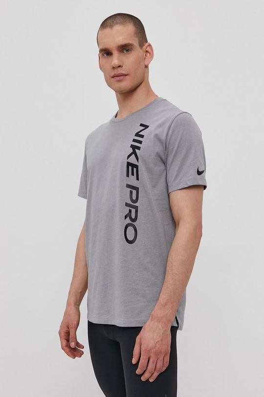 sivá Nike - Tričko Pánsky