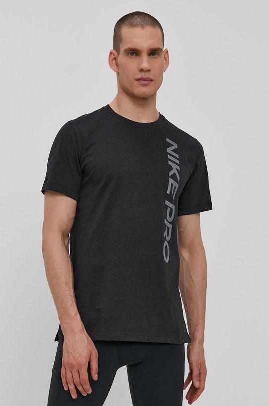 grafitová Nike - Tričko Pánsky