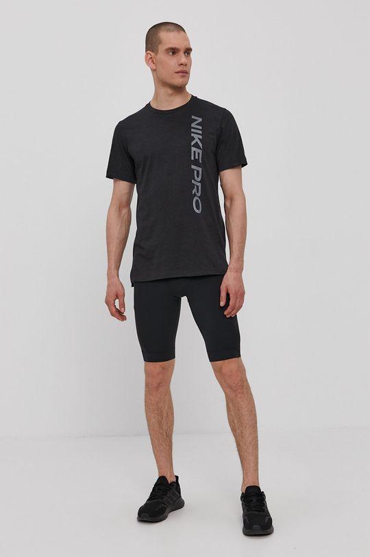 Nike - Tričko grafitová