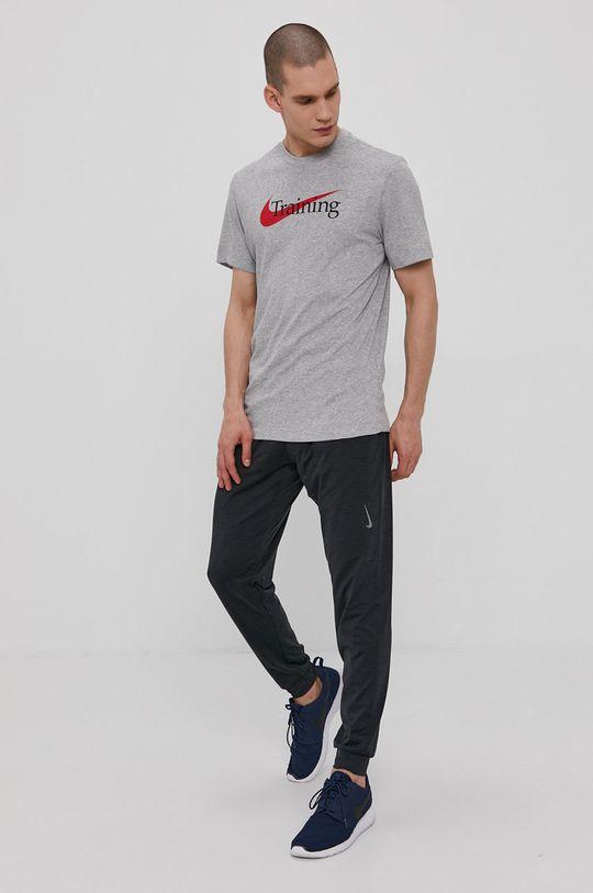 Nike - T-shirt jasny szary