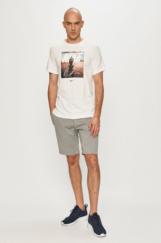 Nike - T-shirt biały