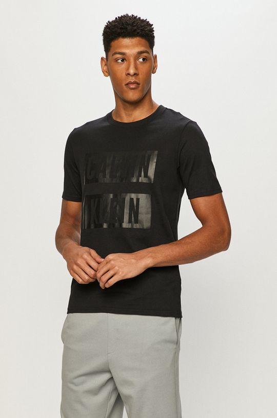 čierna Calvin Klein Performance - Tričko Pánsky