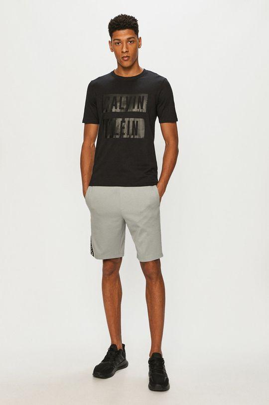 Calvin Klein Performance - Tričko čierna