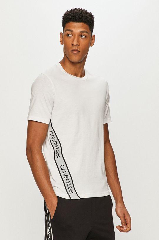 bílá Calvin Klein Performance - Tričko Pánský