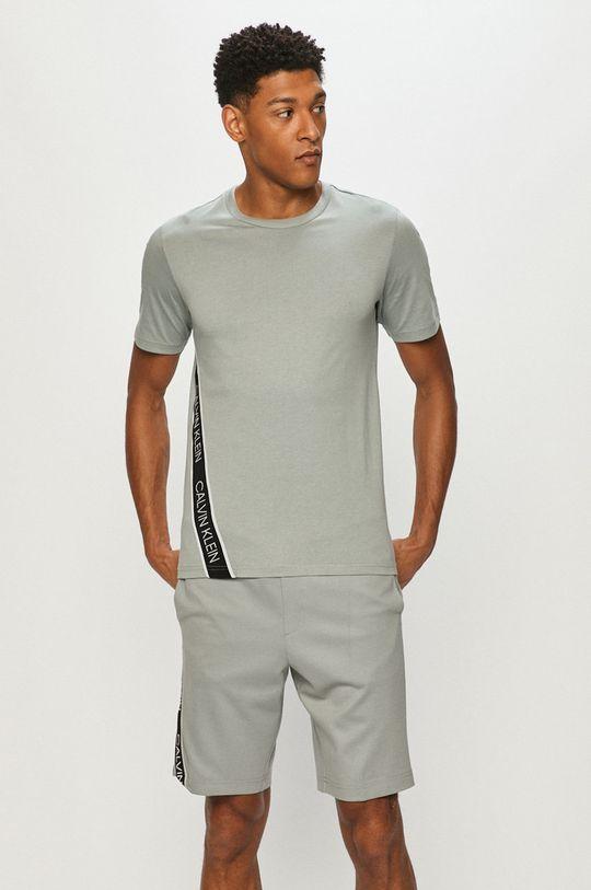 Calvin Klein Performance - T-shirt zielony