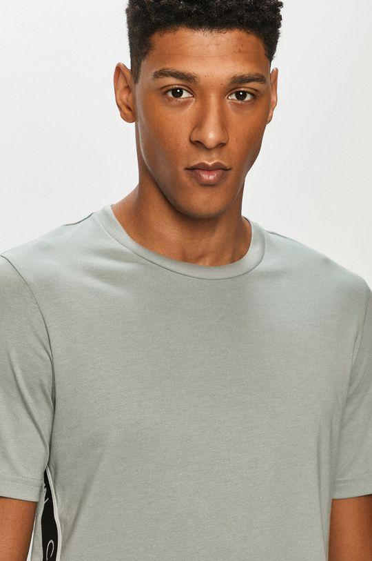 zielony Calvin Klein Performance - T-shirt