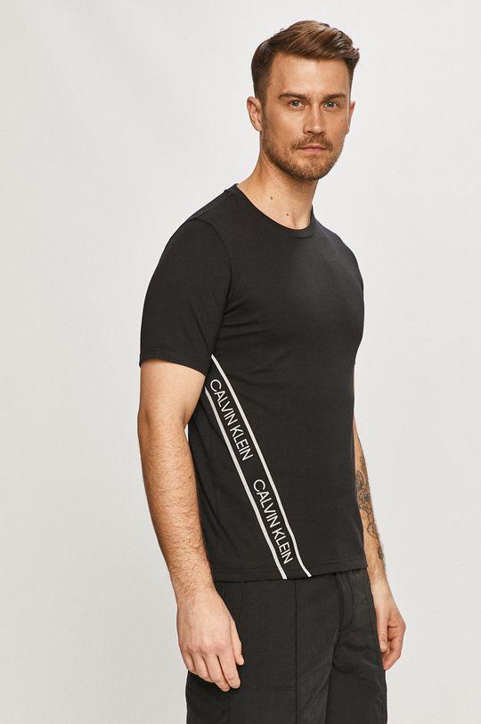 czarny Calvin Klein Performance - T-shirt Męski