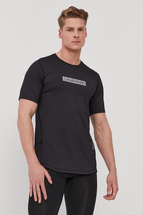 negru Calvin Klein Performance - Tricou De bărbați