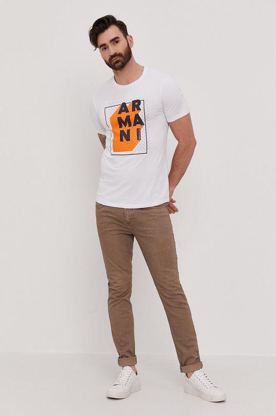 Armani Exchange - Tričko biela