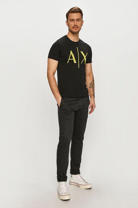 Armani Exchange - Tričko černá