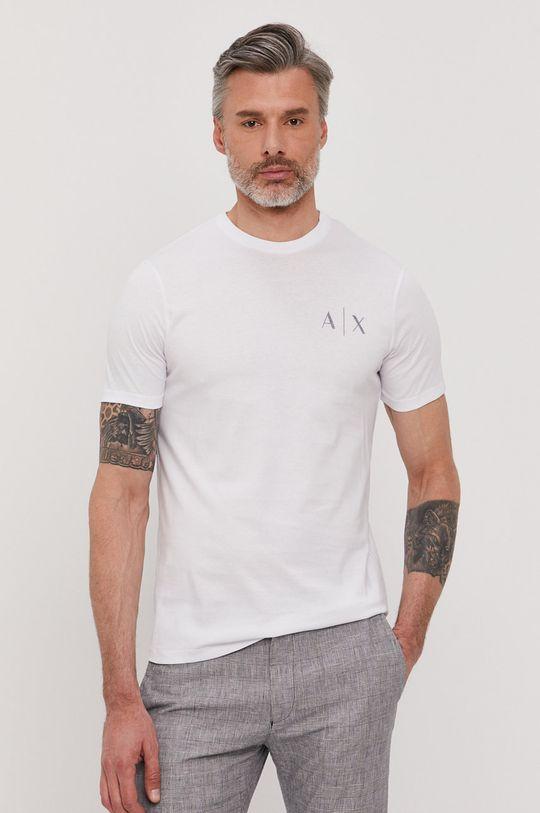 Armani Exchange - T-shirt biały