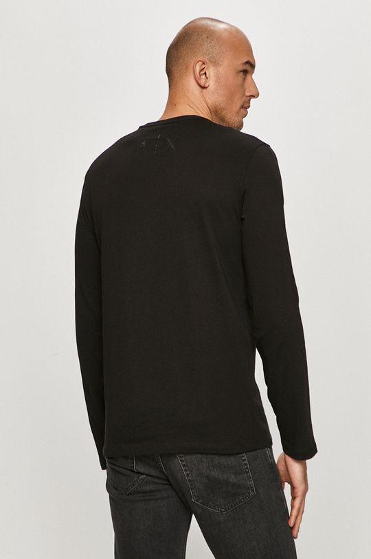 Armani Exchange - Tričko s dlouhým rukávem  100% Bavlna