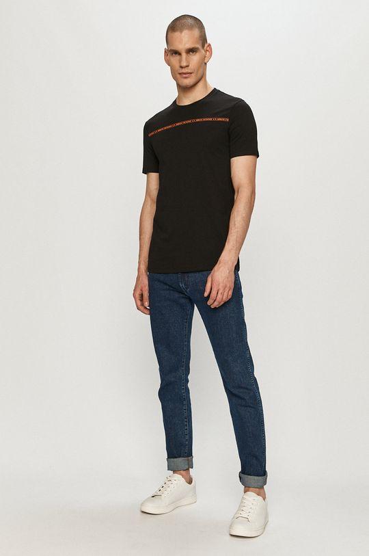 Armani Exchange - Tričko čierna