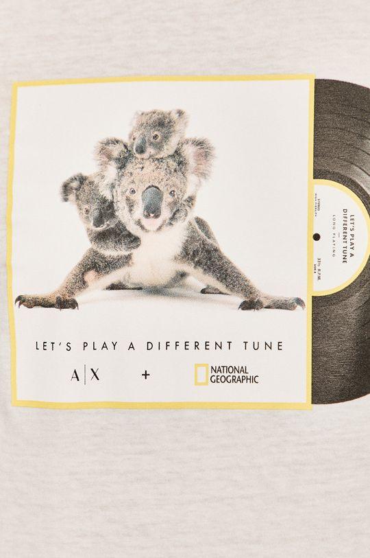 Armani Exchange - Tričko x National Geographic Pánsky