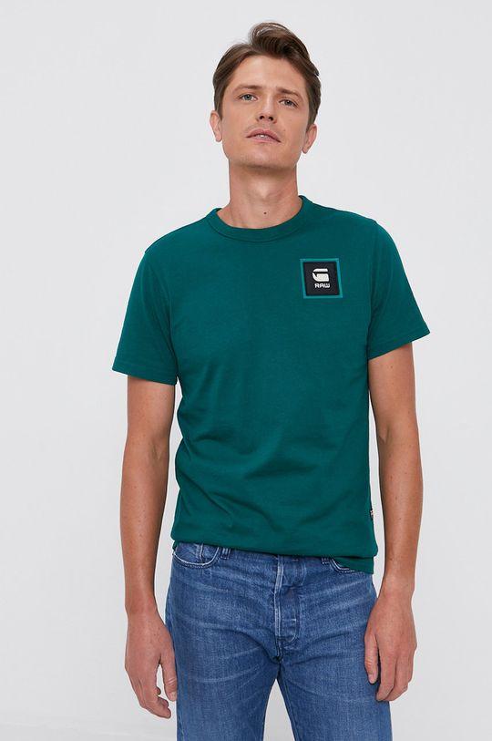 G-Star Raw - T-shirt jasny zielony