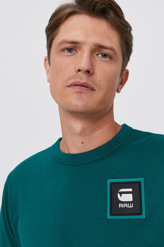 jasny zielony G-Star Raw - T-shirt