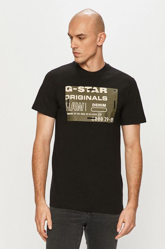 černá G-Star Raw - Tričko