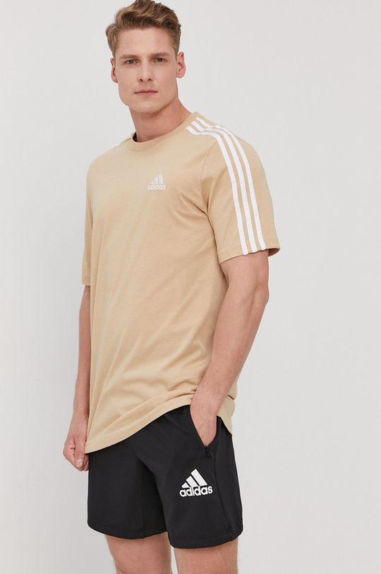 adidas - Tričko kávová