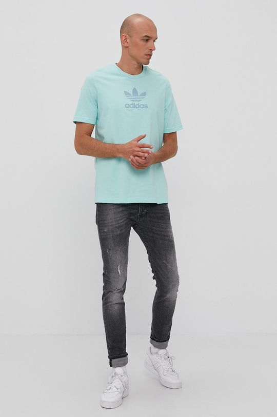 adidas Originals - Tričko tyrkysová